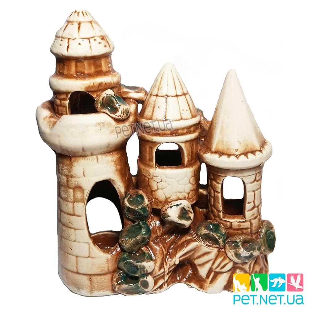 Аквариумная керамика - Замок  -606