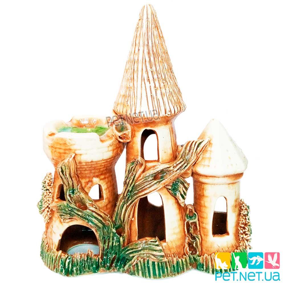 Аквариумная керамика - Замок  - 884