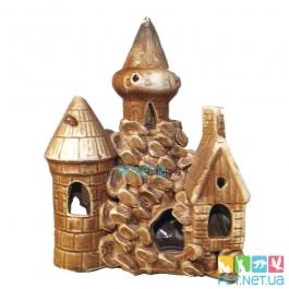 Аквариумная керамика - Замок  - 600