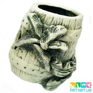 Аквариумная керамика - Бочка - 552