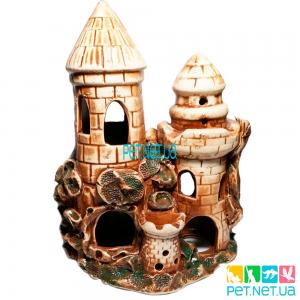 Аквариумная керамика - Замок  - 542