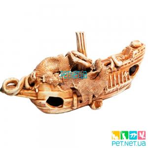 Аквариумная Керамика Корабль - 571