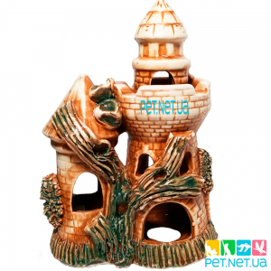 Аквариумная керамика - Башня - 591