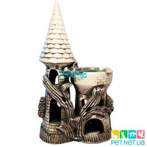Аквариумная керамика - Башня - 691