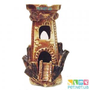 Аквариумная керамика - Башня - 529