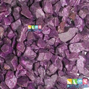 Аквариумный грунт  1 кг. Фиолетовый 5-10 мм.