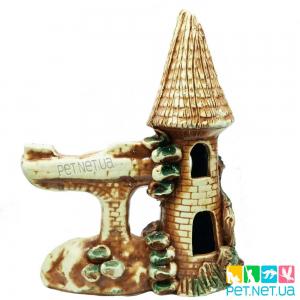 Аквариумная керамика - Замок 623