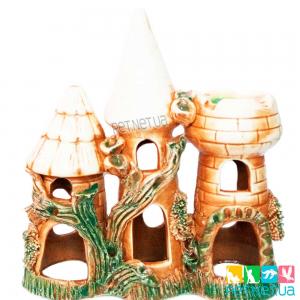 Аквариумная керамика - Замок -883