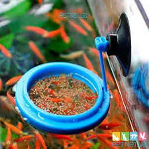 Кормушка для аквариумной рыбки - Круглая 7*7  SW-12Y