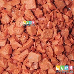 Аквариумный грунт Оранжевый 1 кг. 5-10 мм.