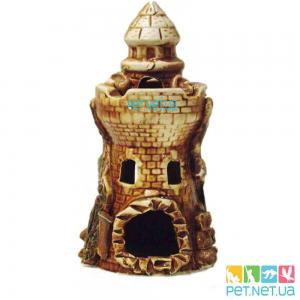 Аквариумная керамика - Башня маяк - 545